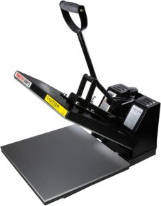 "Transfer Crafts T-Shirt Heat Press & Digital Sublimation Machine – 15"" x 15"" Digital Heat Press"