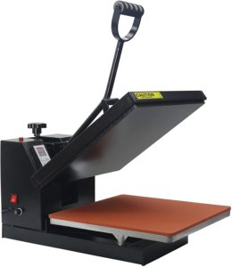 "RoyalPress Industrial-Quality Intelligent Memory Digital Sublimation Heat Transfer Machine 15"" x 15"" Digital Heat Press"