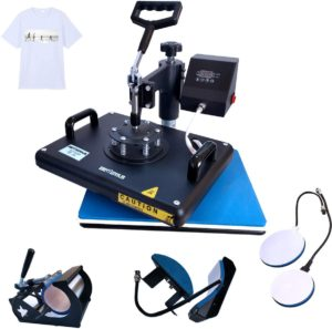 BetterSub Heat Press, 5 in 1 Heat Press Machine