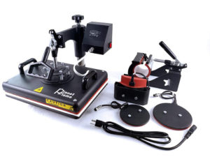 """PlanetFlame Factory CE 12""""x15"""" Combo 5 in 1 Heat Press Machine"""