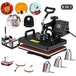Nurxiovo 8 in 1 Swing Away Digital Heat Press Machine 12x15